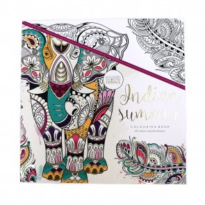 Indian Summer Adult Coloring Book