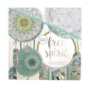 Free Spirit Adult Coloring Book