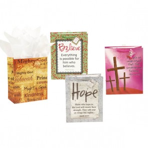 "FLOMO Large ""Christian Inspiration"" Gift Bags"