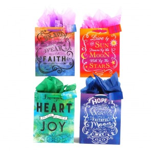 "FLOMO Large ""Words to Live By"" Gift Bags"