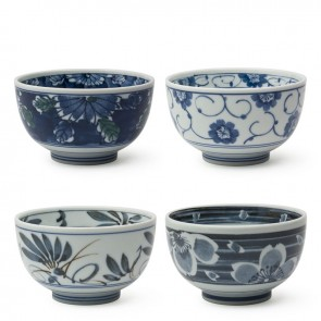 Sometsuke Bowl Set