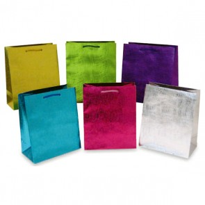 Large Embossed Wave Gift Bags
