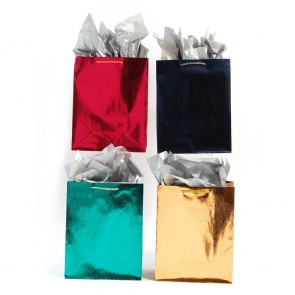 "FLOMO Large ""Embossed Wave Party"" Gift Bags"