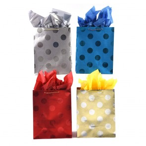 "Large ""Dots Party"" Gift Bags by FLOMO"