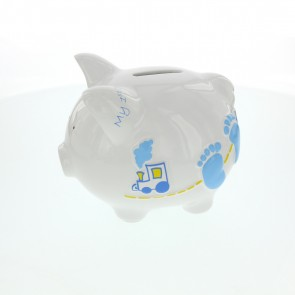 First Baby Boy Piggy Bank