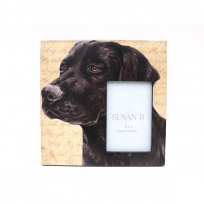 Black Labrador Retriever Frame