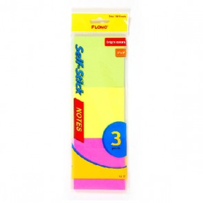 Neon Self-Stick Notes by FLOMO