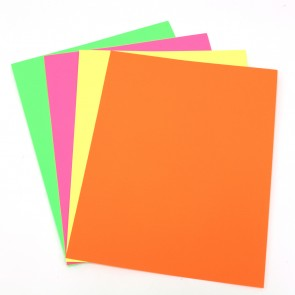 Signmaking Neon Poster Board - Assorted