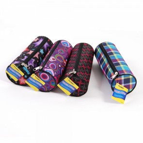 FLOMO Cylinder Girl Pattern Pencil Pouch