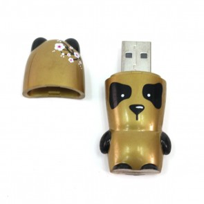 16GB Flash Drive - Golden Panda