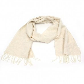 McNutt of Donegal Linen Wool Herringbone Scarf