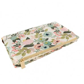 Canvas Pocket Journal Peach Floral by Mary Square