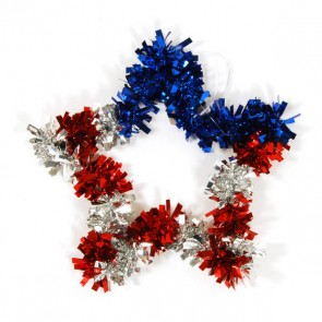 Patriotic Star Hanging Decoration