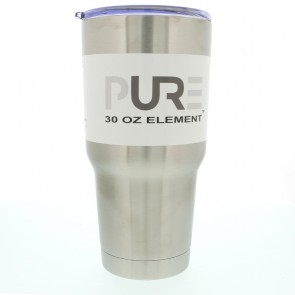 30oz Double Wall Stainless Steel Tumbler W/Lid