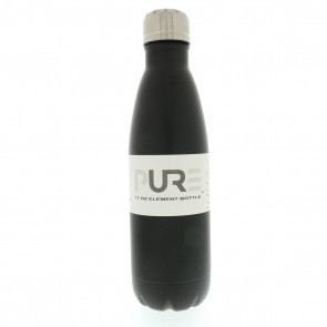 17oz Double Wall Stainless Steel Black Bottle