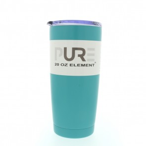 20oz Double Wall Stainless Steel Tumbler w/Lid - Seafoam