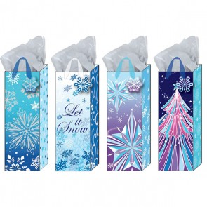 Frozen Wonderland Bottle Bags - Assorted