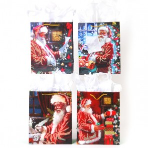 Large Santa's Heart Gift Bags by FLOMO