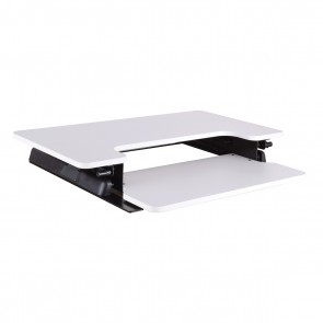 Prado Multiposition Desk Riser - White
