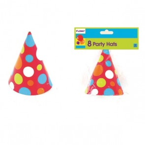 Polka Dot Birthday Hats
