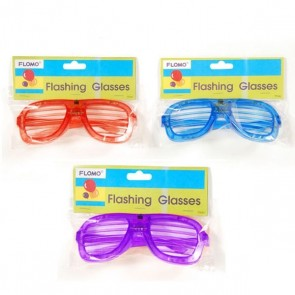 FLOMO Novelty Flashing Glasses