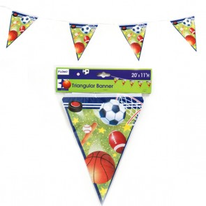 Sports Bunting Pennant Banner
