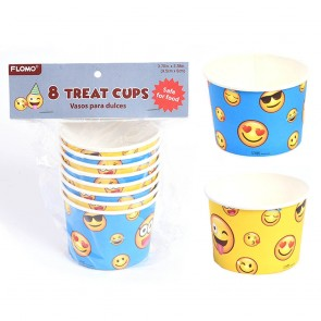 Smiley Face Party Treat Cups by FLOMO