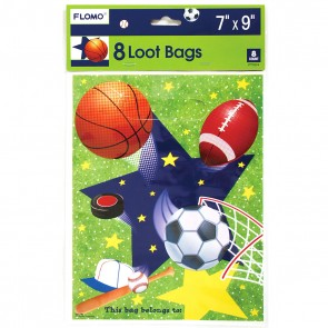 Sports Loot Bags