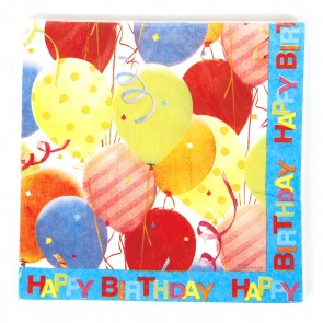 Balloon Party Napkins