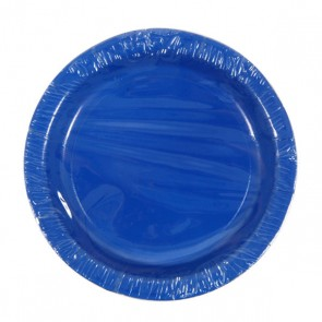 Royal Blue Plates - 7""
