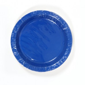 Royal Blue Plates - 9""