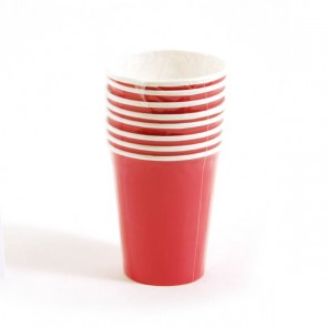 Hot Pink Cups - 9 oz