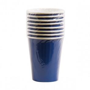Royal Blue Paper Cups - 9 oz