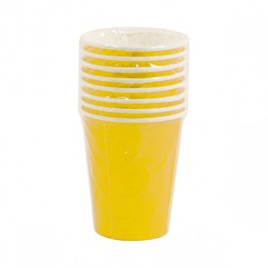 Yellow Cups - 9 oz