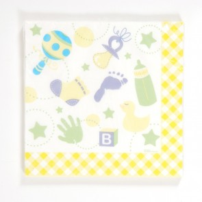 Baby Shower Luncheon Napkins by FLOMO