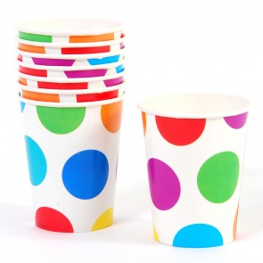 Polka Dot Cups - 9 oz