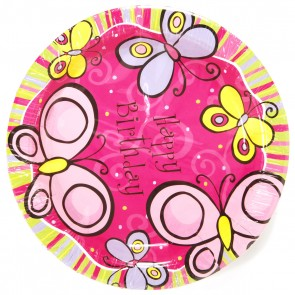 Butterfly Plates - 9""