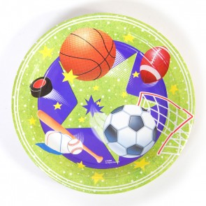 Sports Party Plates - 9""