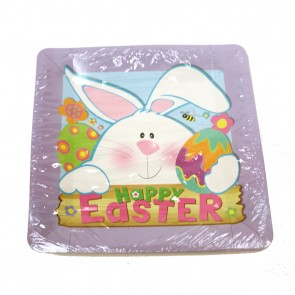 Easter Square Plates