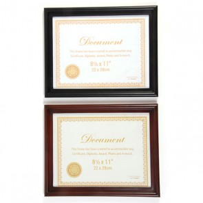 "8.5"" x 11"" Document Picture Frames"