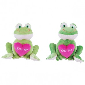 FLOMO Happy Frog with Heart Plush