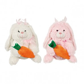 FLOMO Easter Rabbit with Carrot Plush