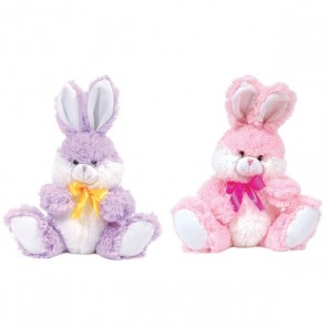 FLOMO Easter Spring Rabbit with Satin Ribbon