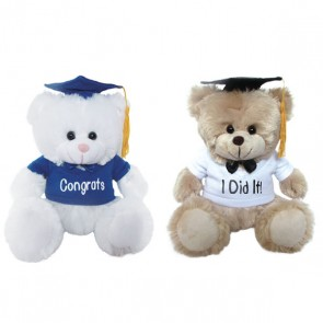 Graduation Plush Bears