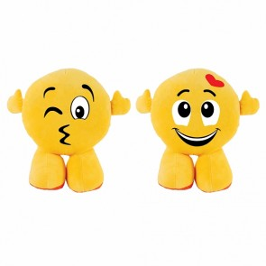 FLOMO Standing Happy Attitudes Smiley Face Plush