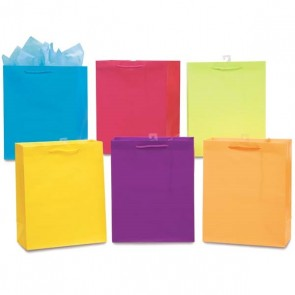 Small Bright Solid Color Gift Bags