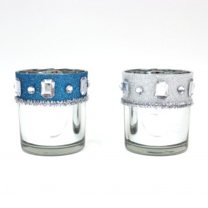 Reflective Votive Candle Holders by Holiday Essentials