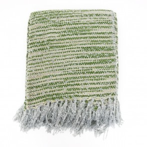 Sevan Relaxed Elegance Throw - Grass by Saro Lifestyle