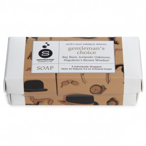 Gentleman's Choice Soap 3 Pack Gift Box