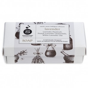 Lavender Soap 3 Pack Gift Box